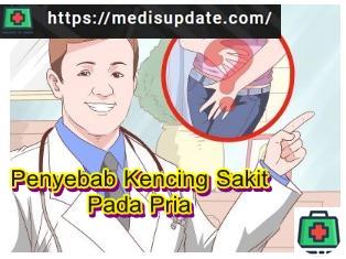 Penyebab Kencing Sakit Pada Pria