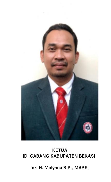 Ketua IDI Kab.Bekasi Peduli Banjir Bekasi