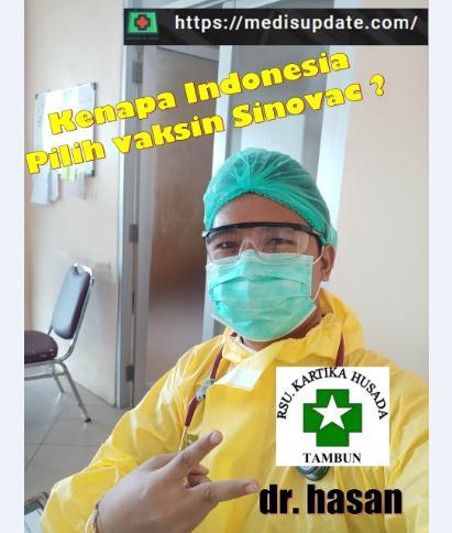 Kenapa Indonesia Pilih Vaksin Sinovac