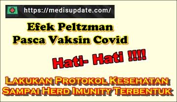 Efek Peltzman Setelah Vaksin Covid