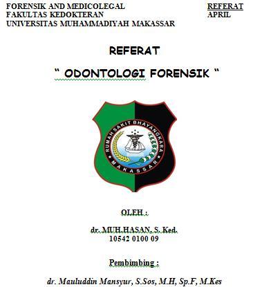 referat odontologi forensik