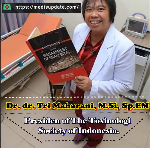 dr. Tri Maharani Dokter Toksikologi Indonesia