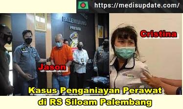 Penganiaya Perawat RS Siloam di Palembang