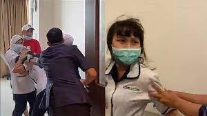 Penganiaya Perawat Siloam di Palembang