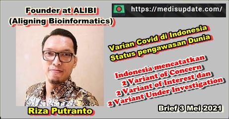 Varian Covid 19 yang ada di Indonesia