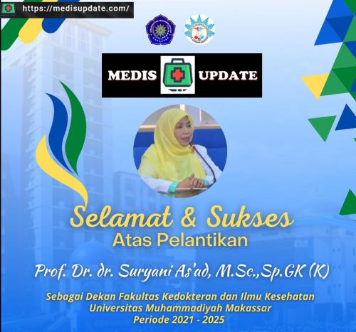 Dekan Baru FKIK Unismuh Makassar